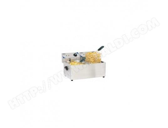 casselin friteuse électrique 2 x 4 l