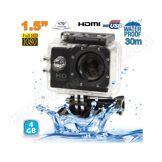 YONIS Caméra sport étanche 30m caméra d'action Full HD 1080p 12MP noir 4Go