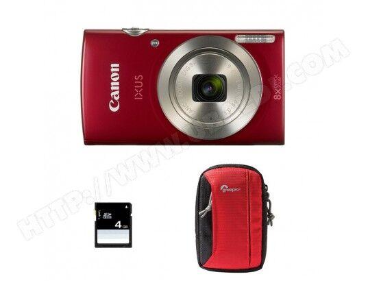 CANON Compact Ixus 185 Rouge + S...