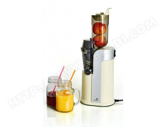 SENYA Extracteur de jus de fruits et légumes Senya Healthy juicer Crème