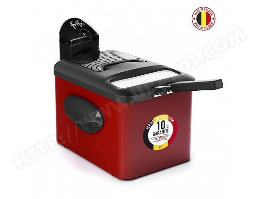 Frifri - Friteuse 1905R Duofil - Couvercle anti-odeur et anti-graisse - 3200 watts