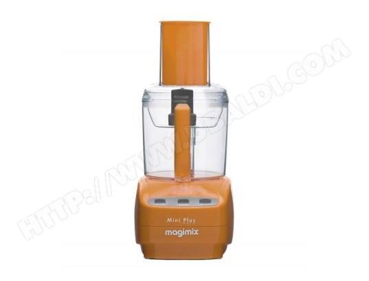 Magimix Robot Multifonction Mini Plus Orange Papaye 400W 1,7L 18254F