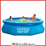 INTEX Piscine hors sol anneau gonflable ronde 305 x 76 cm Easy Set 28120