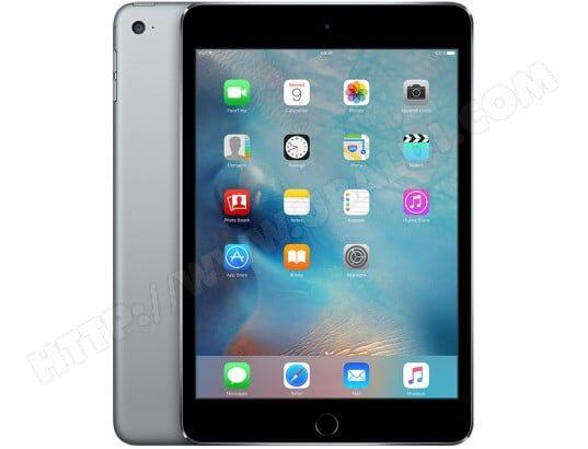 APPLE iPad mini iPad mini 4 Wi-Fi 4G 128Go Gris sidéral