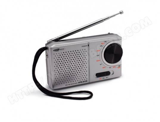 CALIBER Radio portative AM/FM - Caliber HPG311R