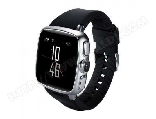 YONIS Montre Running Android Smartwatch Bluetooth Tactile Caméra GPS Argent
