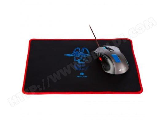 ngs souris gaming 7 couleurs led avec tapis de souris