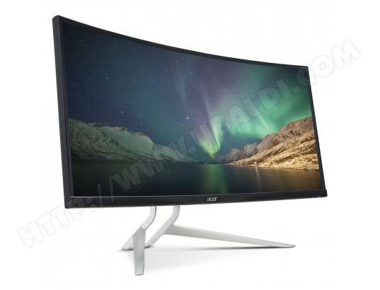 Acer 38' LED - XR382CQKbmijphuzx - 3840 x 1600 - 5 ms - Format large 21/9 - Dalle IPS incurvée - DisplayPort - HDMI - Hub USB 3.0 - Adaptive-Sync - Noir