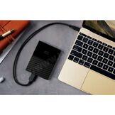 WESTERN DIGITAL WD My Passport for Mac 2 To Noir (USB 3.0 Type C)