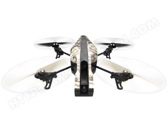 parrot quadrocopter radiocommandé ar.drone 2 elite edition version sand