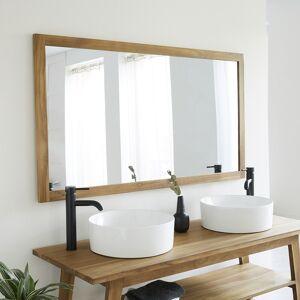 BOIS DESSUS BOIS DESSOUS Miroir en bois de teck 145 cm - Publicité