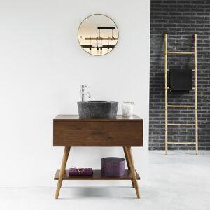 BOIS DESSUS BOIS DESSOUS Meuble de salle de bain en bois de mindy 80 BOIS DESSUS BOIS DESSOUS - Publicité