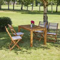 BOIS DESSUS BOIS DESSOUS Salon de jardin extensible en bois d'acacia 4 à 8 places BOIS DESSUS BOIS DESSOUS <br /><b>399 EUR</b> Bois Dessus Bois Dessous