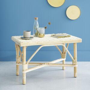 BOIS DESSUS BOIS DESSOUS Table basse en rotin naturel - Publicité