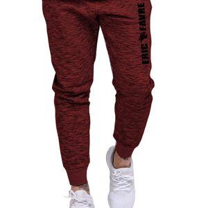 Eric Favre Pantalon Mens Joggers (Rouge / S) - Eric Favre - Publicité