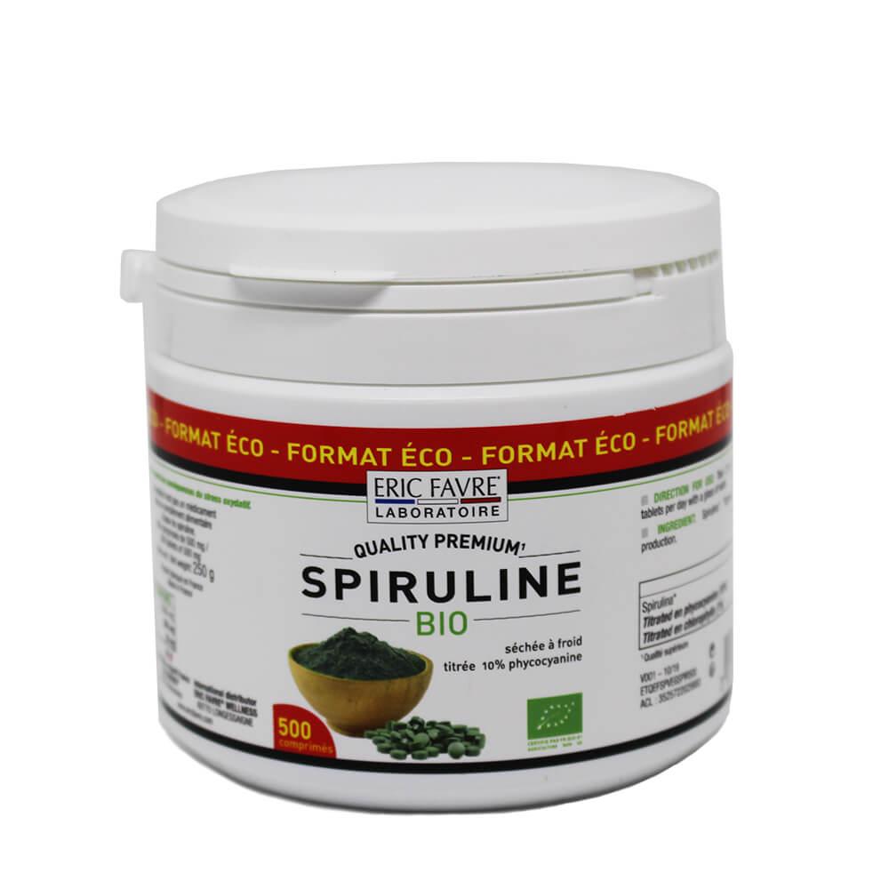 Eric Favre Spiruline Vegan Bio - Format ECO - Eric Favre