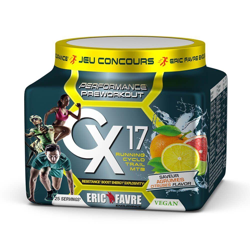 Eric Favre Endurance Pre Workout Vegan Cx17