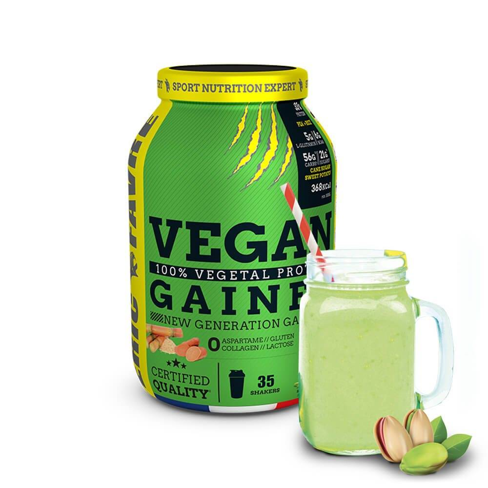 Eric Favre Nutrition Expert Vegan Gainer