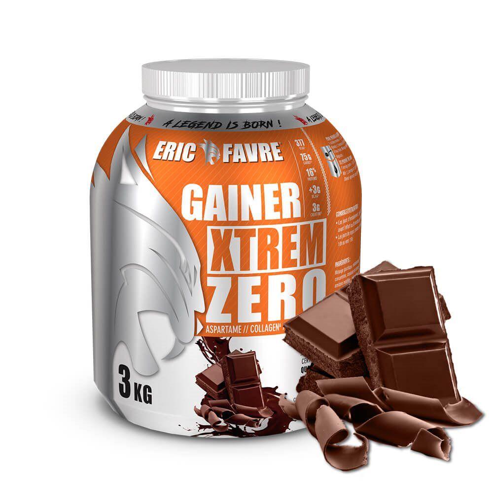 Eric Favre Gainer Xtrem Zero - Protéines prise de masse - Chocolat - Eric Favre