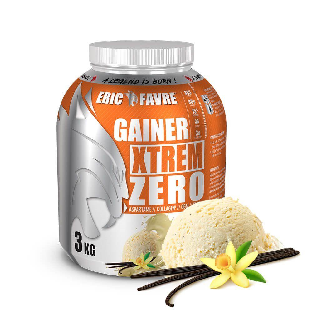 Eric Favre Gainer Xtrem Zero - Protéines prise de masse - Vanille - Eric Favre