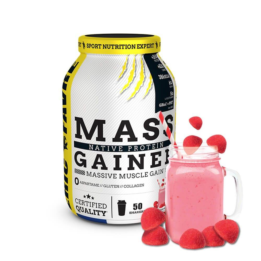 Eric Favre Sport Nutrition Expert Mass Gainer Native Protein