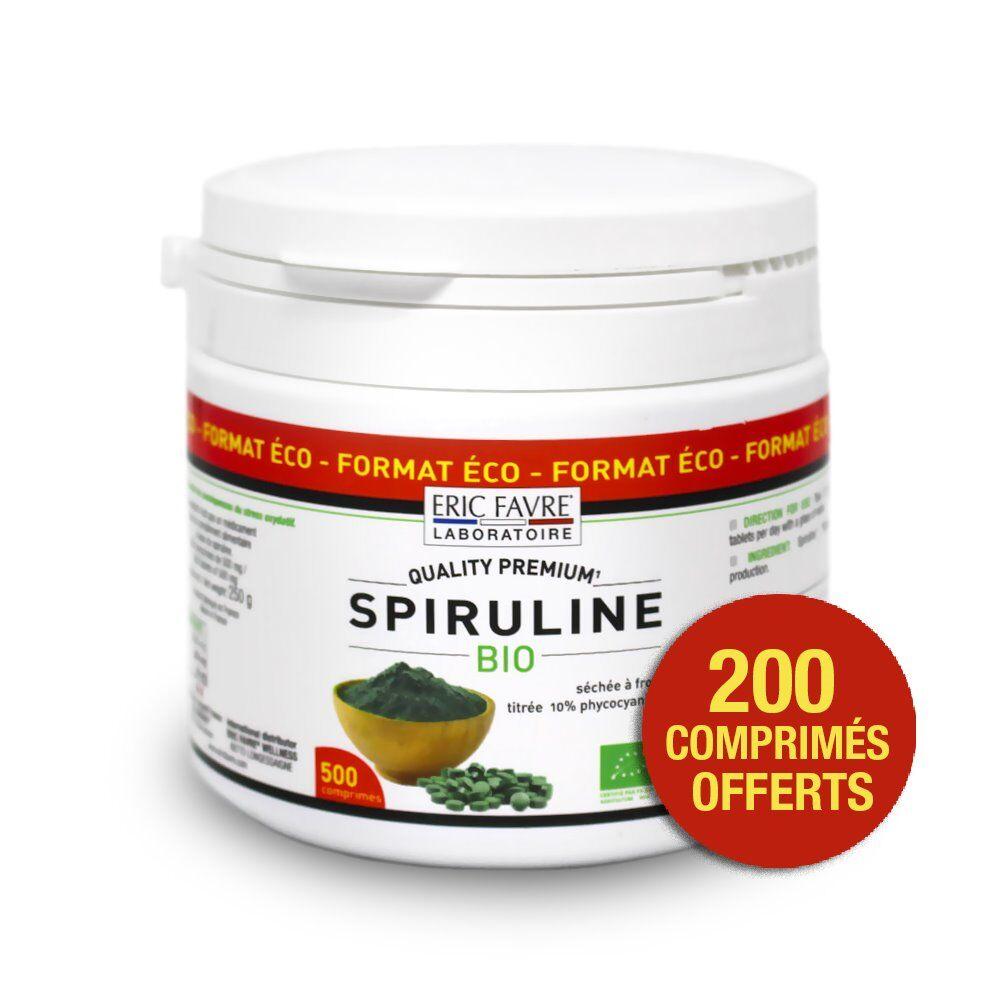 Eric Favre Nutrition Expert Spiruline Vegan Bio