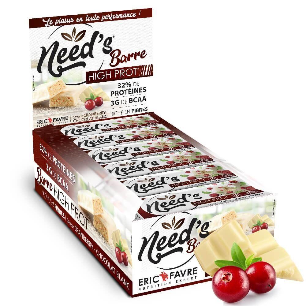Eric Favre Barres Protéinées Need's High Protein - Eric Favre