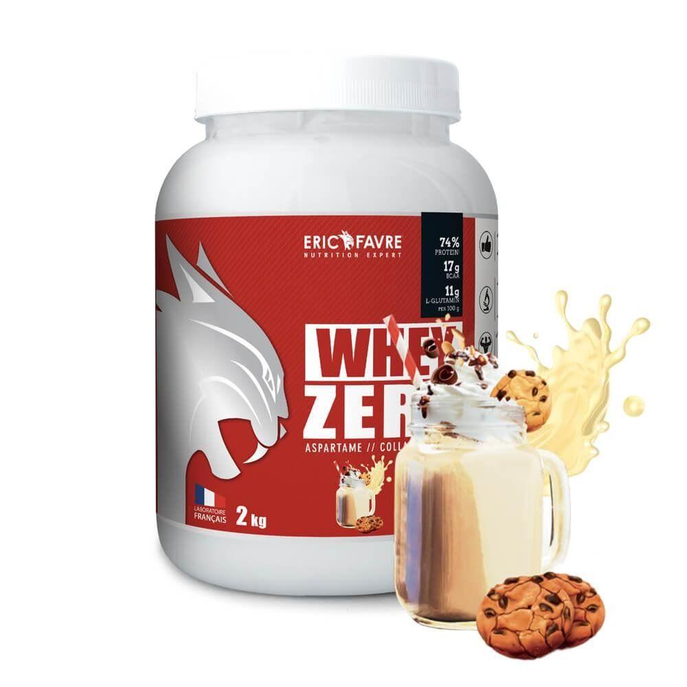 Eric Favre Whey protéine concentrée Zero - Eric Favre