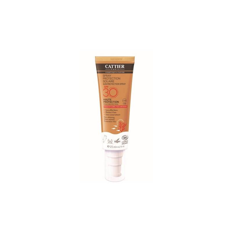Cattier Spray protection solaire SPF30 - 125ml