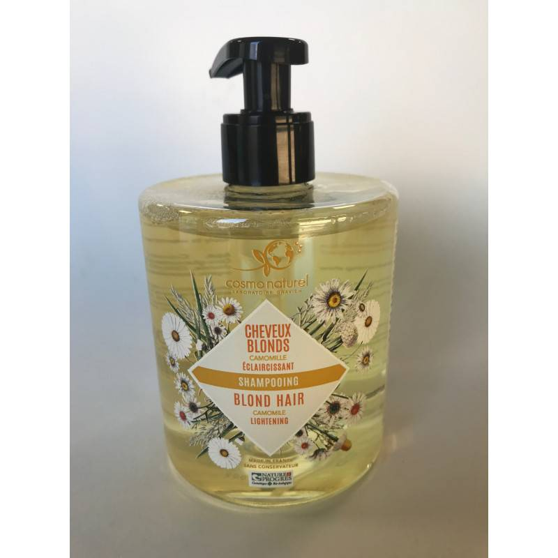 Cosmo Naturel Shampoing cheveux blonds camomille - 500ml