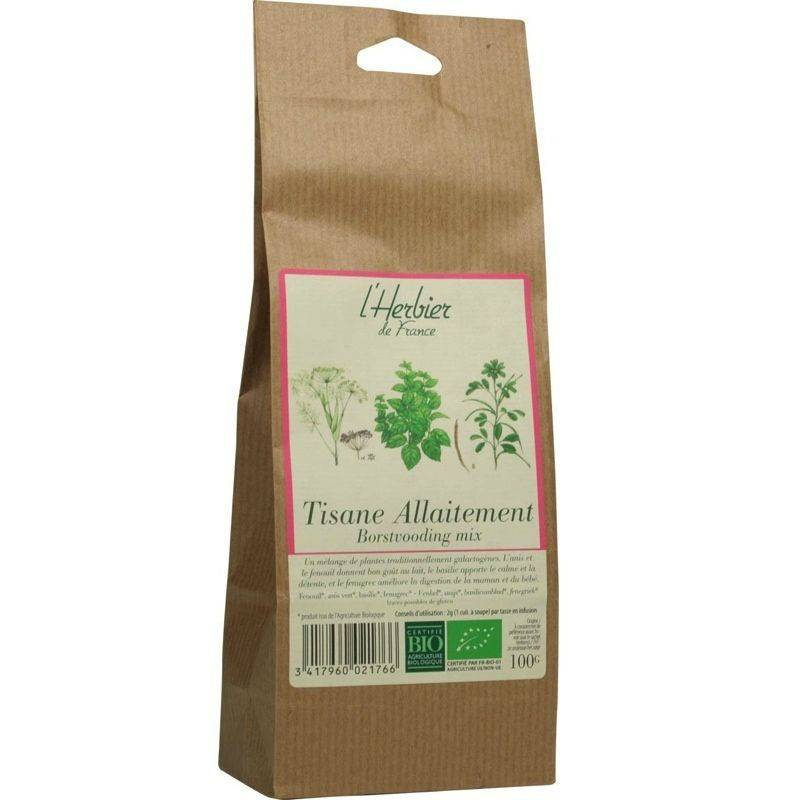 Infusion allaitement - 100g bio - L'herbier de France