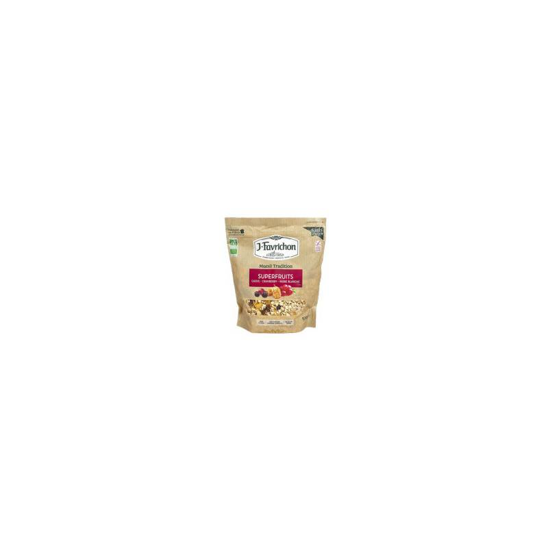 Muesli tradition superfruits - 500g bio - Favrichon