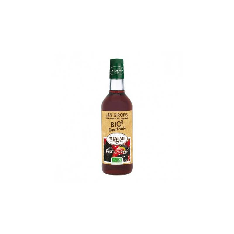 Sirop de fruits rouges - 50cl bio - Maison Meneau