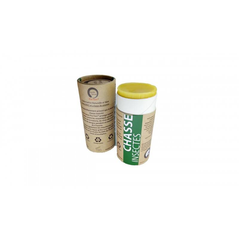 Baume solide chasse insectes - 80ml bio - Earth Sense