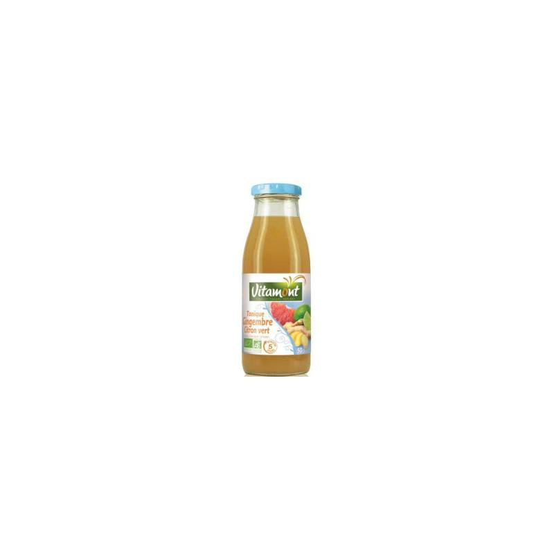 Tonique gingembre citron vert - 50cl bio - Vitamont