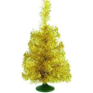 Europalms Table christmas tree, gold, 45cm - Arbre de Noël