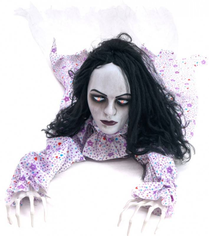 EUROPALMS Halloween figure Crawling Girl, 150cm - Décoration Halloween