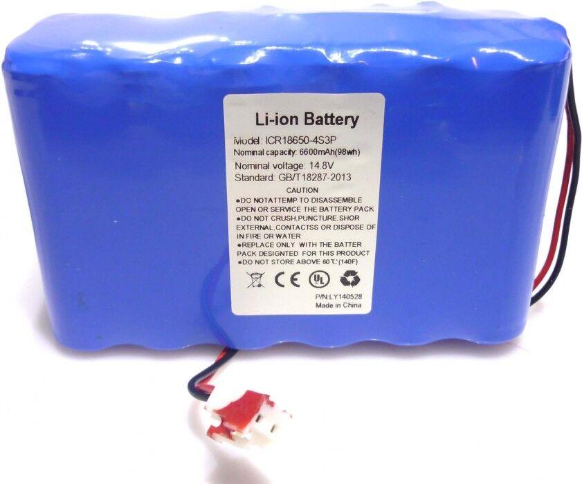 Ersatzteil Battery 14.8V/6600mAh (98Wh) rectangle - Pièces de rechange