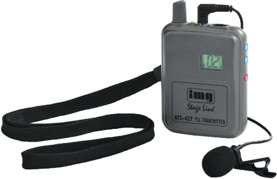 IMG Stageline Système de transmission voix mono PLL 40 canaux mono, 863-865 MH - Combinés micros-casques