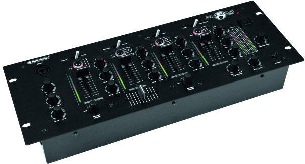 OMNITRONIC PM-444USB 4-channel DJ mixer - Tables de mixage et consoles de mixage DJ