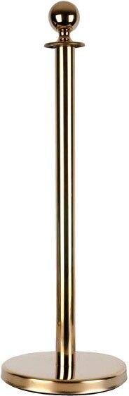 Showtec Round Top Cord Pole - doré - Produits de sécurité et de protection d'accès