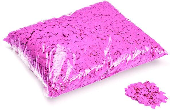 MagicFX Magic FX Powderfetti 6x6mm - Fluo Pink 1kg - Confettis en poudre