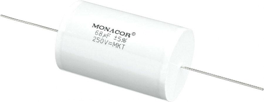 Monacor MKTA-680 Condensateurs à film plastique métallisé MKT, 250 V - Répartiteurs de fréquence/Pièces détachées