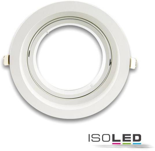 ISOLED Collerette d'encastrement ronde orientable, AR111, limitant la luminance, blanc - Encastrés de plafond