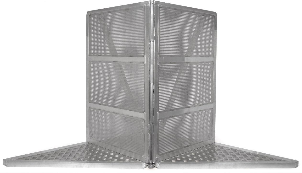 Bullstage StageBarrier Élément à angle variable 90 ° à 180 ° - vario coin - Produits de sécurité et de protection d'accès