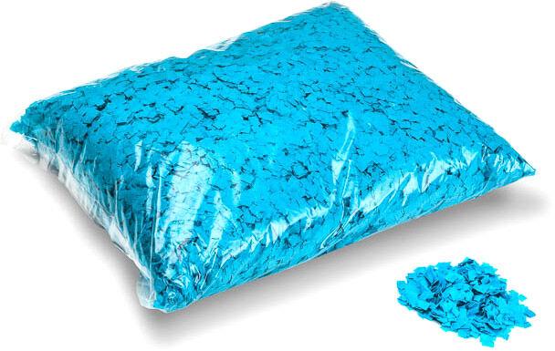 MagicFX Magic FX Powderfetti 6x6mm - Light Blue 1kg - Confettis en poudre