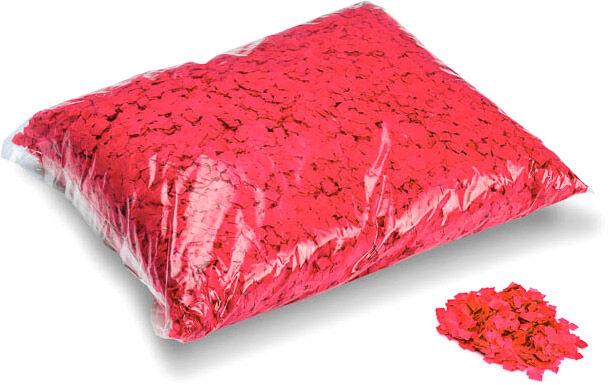 MagicFX Magic FX Powderfetti 6x6mm - Red 1kg - Confettis en poudre