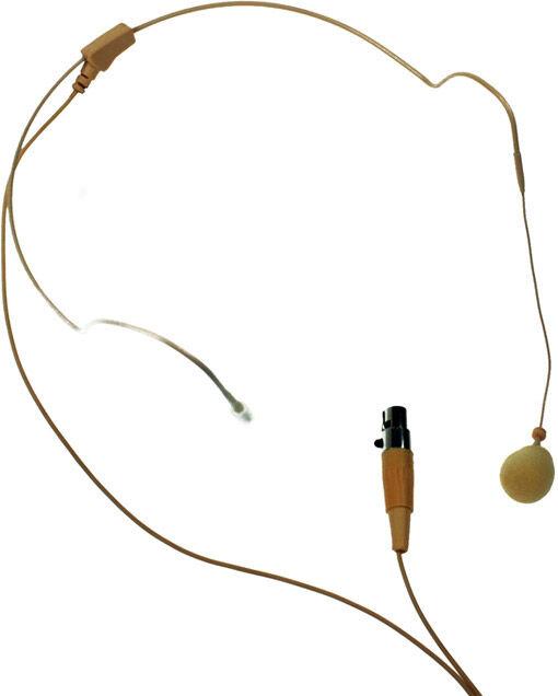 LD Systems Série WS 100 Micro Serre-tête couleur beige - Casques o casques audio