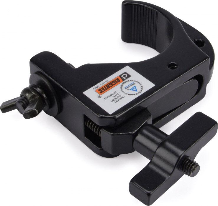 Riggatec Smart Hook Slim Clamp Mini - noir jusqu'à 75 kg (32-35mm) - Pinces