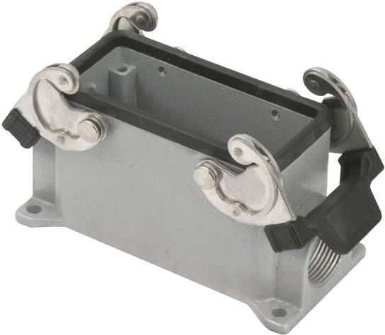 Showtec 16/72 Pole Chassis Closed Bottom/Clips PG21 Gris - Fiches & embases multibroches